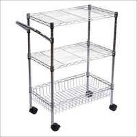 Display Rack With Trolley