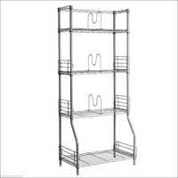 Steel Four Tier Display Rack
