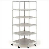 Steel 6 Tier Display Rack