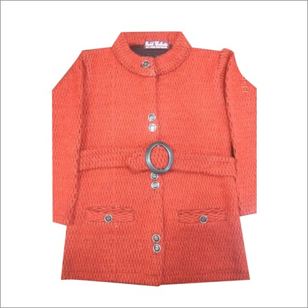 Nehru Collar Ladies Sweater