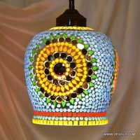 HANGING,MOSAICGLASS HANGING,DECORATIVE RESIDENTIAL HANGING