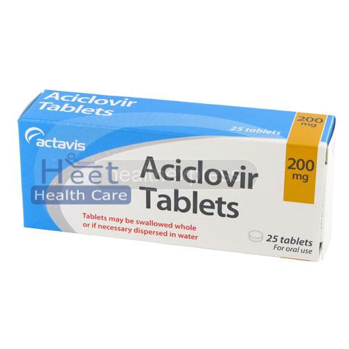 Aciclovir 200mg Tablets