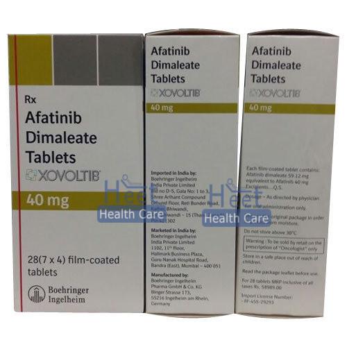 Xovoltib Afatinib Dimaleate 40mg Tablets