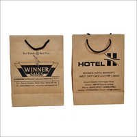 Brown Paper Printed Bags