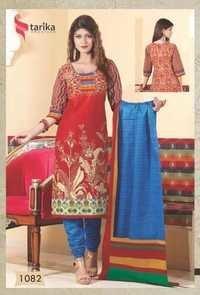 cotton salwar kameez tarika ridham vol-4