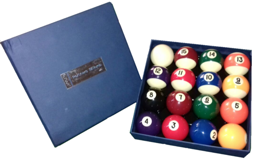 Partners Pool Balls Set