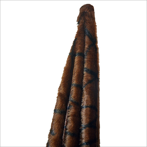 Brown Artificial Fur Fabric