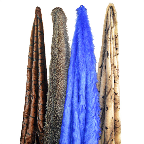 Colored Fur Fabric