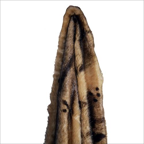 Leopard Print Fur Fabric