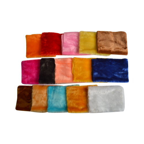 Colored Shining Fur Fabric