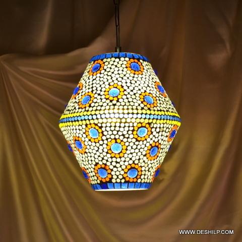 Diamond Vintage swag hanging lamp light