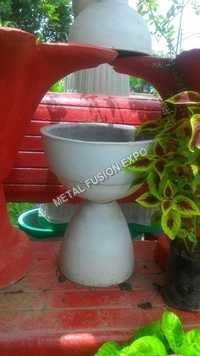 Horn Concrete Planter