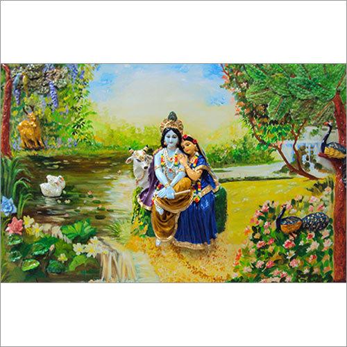 Radha Krishna Murals