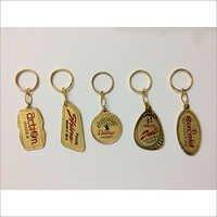 Metal Golden Keychain