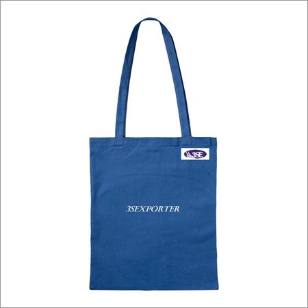 Dark Blue Cotton Bag
