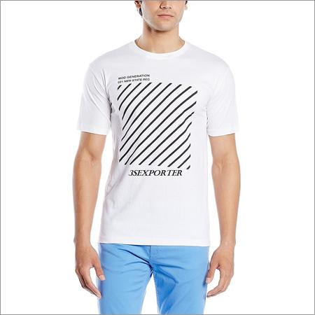 Printed White T Shirts