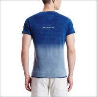 Blue Round Neck T Shirts