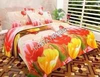 Attractive Floral Printed Bed Sheet