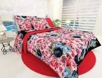 Multicolor Floral New Design Bed Sheet