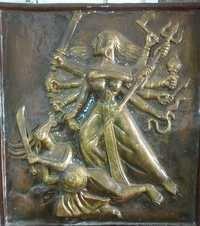 Fiber Durga Wall Murals