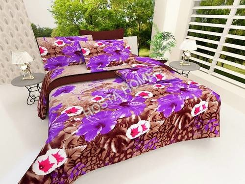 New Design Printed Poly Cotton Bed Sheet