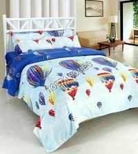 Multicolor Poly Cotton New Print Bed Sheet