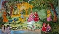 Radhakrishna Canvas Painting