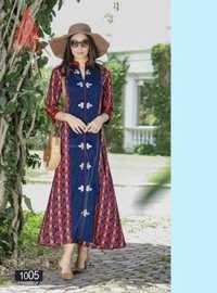 Cotton printed kurti fashion galleria by kajal style