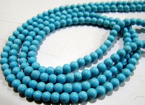 Turquoise Round Beads