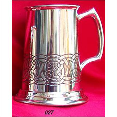 Beer Mug Nickle plated