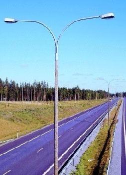 Swaged Type Steel Tubular Poles