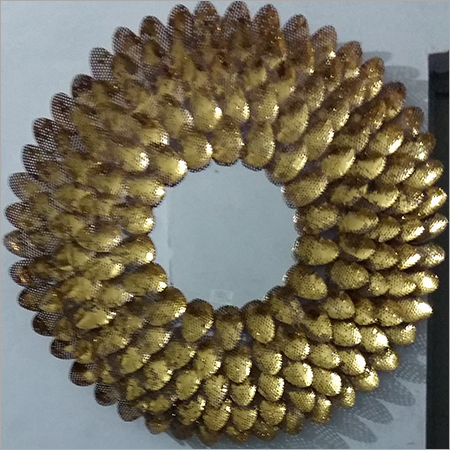 Egg shaped Iron Mirror Frames