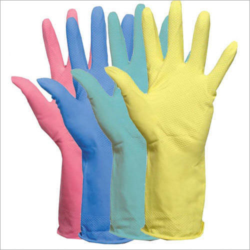 Latex Household Gloves