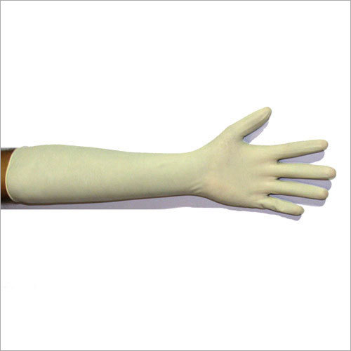 Long Latex Surgical Gloves