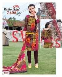 Cotton suits patidar zara vol-2 with chiffon dupatta