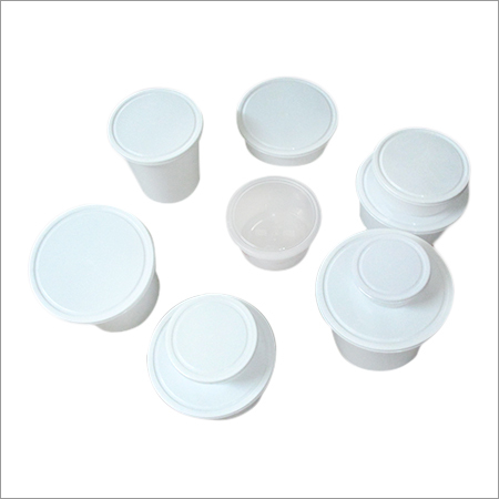 Plastics Food Storage Container Pair