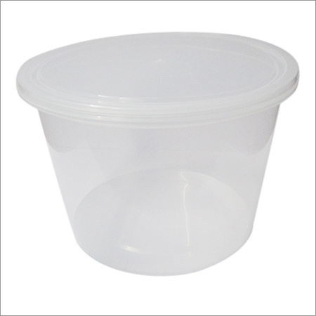 Transparent Plastic Food Container