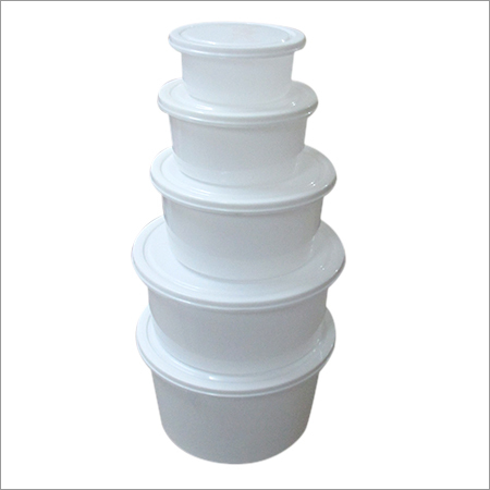 Grade Plastics Food Container Set