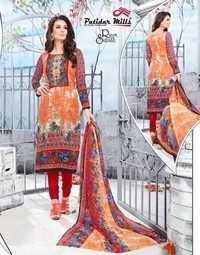Printed dress materials patidar mills razya sultan