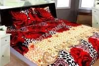 Multicolor Floral Print Bed Sheet