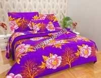 Floral Printed Poly Cotton Bed Sheet