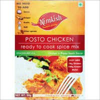 Posto Chicken Masala