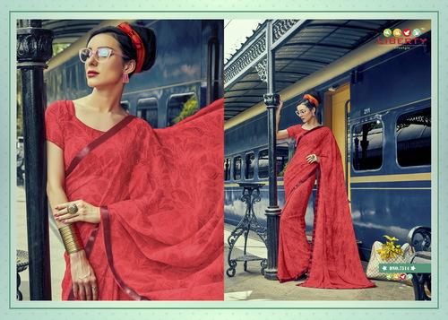 Printed Latest Fashion Saree