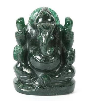 Semi Precious Hindu God Statues