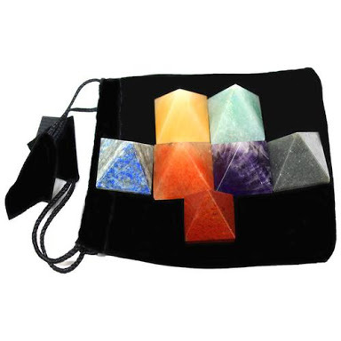 7 Chakra Pyramid Set