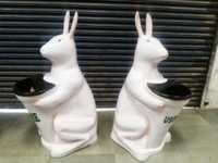 RABBIT SHAPED DUSTBIN