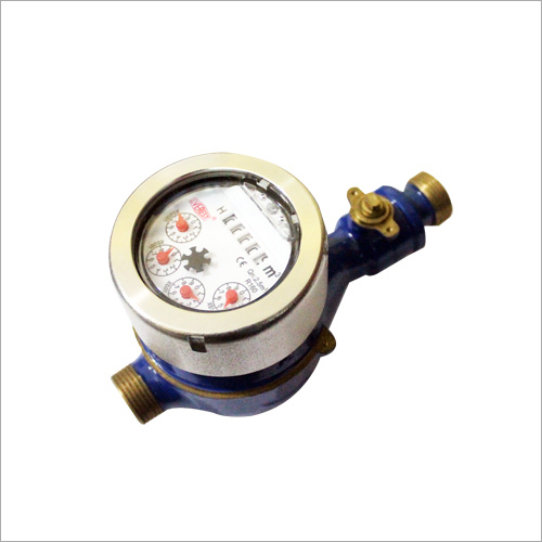Multi Jet Water Meter Class B DN15 with Ball Valve