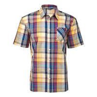 Half Sleeve Check Shirt
