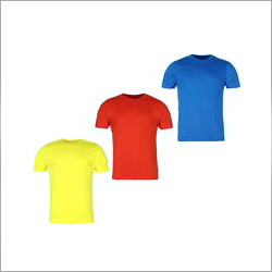Round Neck Plain T-Shirt