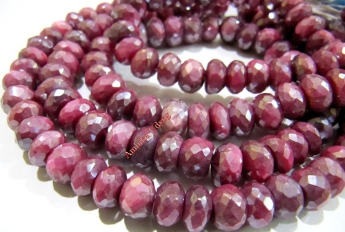 Mystic Coated Natural Moonstone Beads